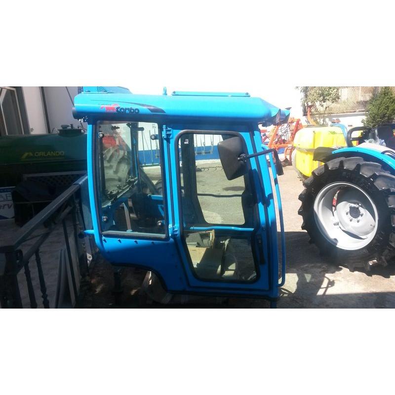 Cabina nuova per trattore cingolato trekker for Cabina come case